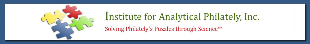Institute for Analytical Philately, Inc. Logo